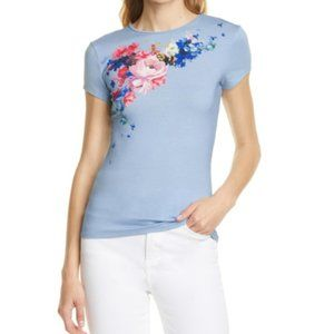 Ted Baker London RASPBERRY RIPPLE FITTED TEE